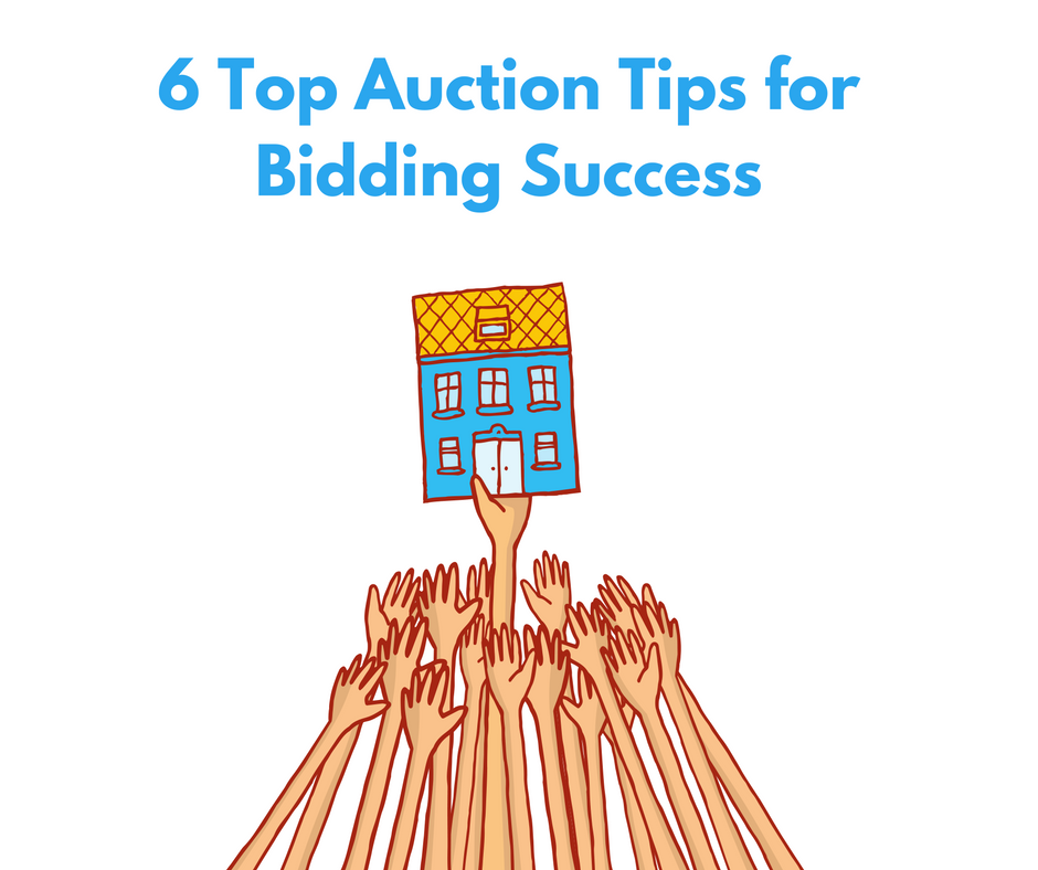 Pendo finance 6 top auction tips for bidding success for Auction advice